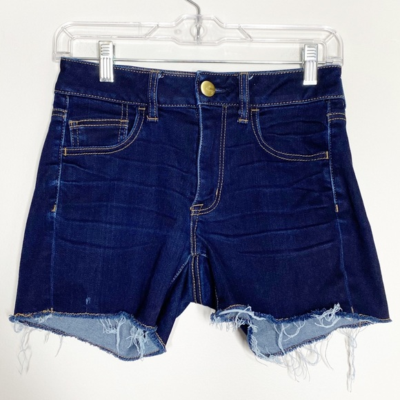 American Eagle Hi Rise Shortie Shorts Size 2